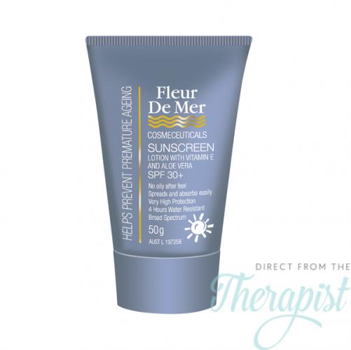 Fleur De Mer Total Sunscreen SPF 50 Clear