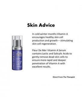 vitamin a skin advice