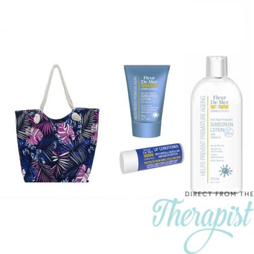 FleurDeMer Sunscreen Beach-bag Set