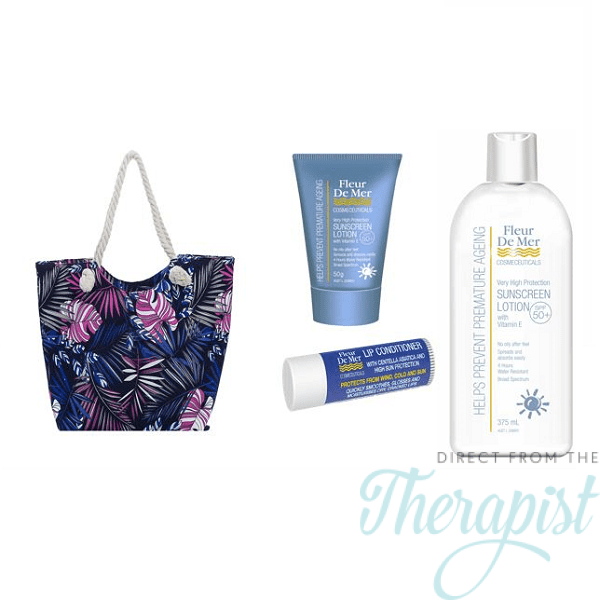 FleurDeMer Sunscreen Beach-bag Set