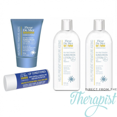 FleurDeMer Sunscreen 4 Pack