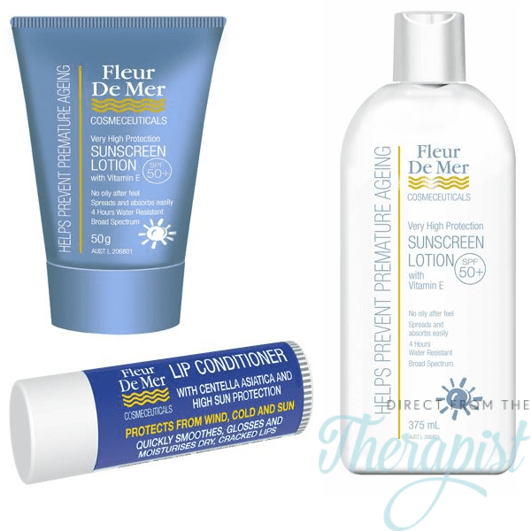 FleurDeMer Sunscreen 3 Pack Contains